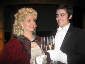 Emily Stokes and Chris Galvan in Phantom