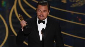 Best Actor winner Leonardo DiCaprio for The Revenant