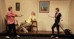 Karrie McLaughlin, Elle Winchester, and Stephanie Moeller in Mama Won't Fly