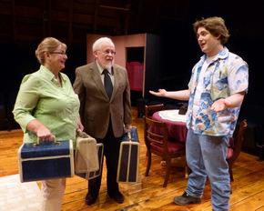 Terri Nelson, Stan Weimer, and Josh Wielenga in Amy's Wish