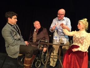 Jordan Smith, Bill Peiffer, Jake Walker and Maggie Woolley in Uncle