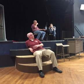 Jake Walker, Michael Carron, and Jordan Smith in Uncle