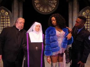 John VanDeWoestyne, Autumn O'Ryan, Antoinette Holman, and Cedric J. Paige in Sister Act