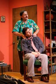 Matthew Teague Miller and David Coolidge in The Odd Couple
