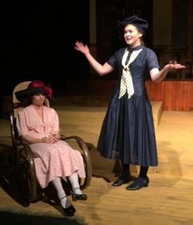 Jessica Denney and Abby Van Gerpen in Inheritors
