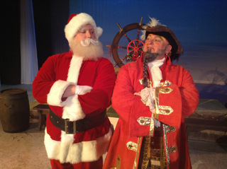 Nicholas Munson and Janos Horvath in Jingle Arrgh the Way