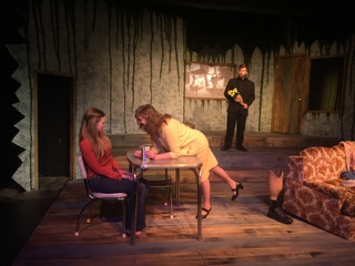 Abby Van Gerpen, Patti Flaherty, and Andy Curtiss in Buried Child