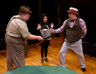 Ray Rogers, Mike Skiles, and Grace Burmahl in The Fantasticks
