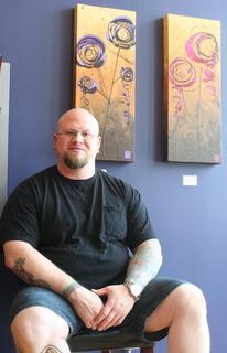 Mark Schwalm-Bell at Indigo Body Art Gallery