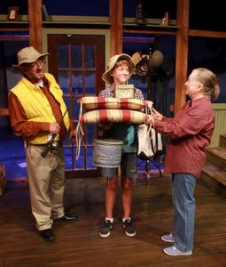Kevin Babbitt, Jack Sellers, and Rae Mary in On Golden Pond