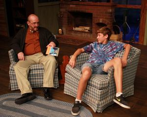 Kevin Babbitt and Jack Sellers in On Golden Pond