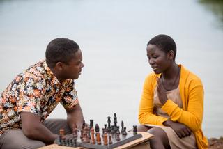 David Oyelowo and Madina Nalwanga in Queen of Katwe