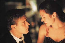 Russell Crowe and Jennifer Connelly in A Beautiful Mind