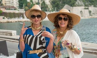 Joanna Lumley and Jennifer Saunders in Absolutely Fabulous: The Movie