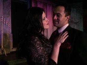 Erin Platt and Jason Platt in The Addams Family