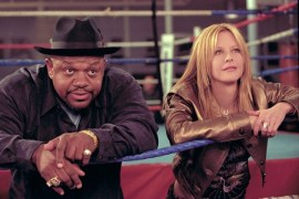 Charles S. Dutton and Meg Ryan in Against the Ropes