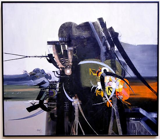 Alejandro Obregon, 'The Last Condor.' Image courtesy of Deere & Company.
