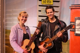 Melissa Anderson Clark and Bryan Tank in All Shook Up