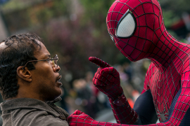 Jamie Foxx and Andrew Garfield in The Amazing Spider-Man 2