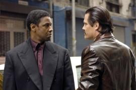 Denzel Washington and Josh Brolin in American Gangster