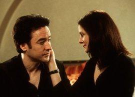 John Cusack and Julia Roberts in America's Sweethearts