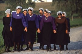 Amish reaction to a school shooting in their community