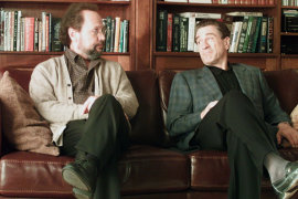 Billy Crystal and Robert De Niro in Analyze That