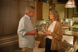 Michael Douglas and Diane Keaton in And So It Goes