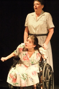 Jamie Em Behncke and Susan Perrin-Sallak in And They Dance Real Slow in Jackson