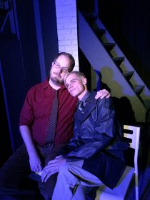 John Antonin Dieter and Anthony Natarelli in Angels in America: Millennium Approaches