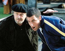 Jack Nicholson and Adam Sandler in Anger Management