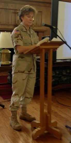 Retired Lieutenant Colonel Ann Hochhausen