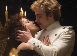Keira Knightley and Aaron Taylor-Johnson in Anna Karenina
