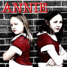 Mackenna Janz and Allison Winkel, alternating performances as Annie