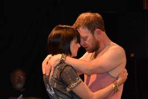 Kristin Skaggs and J.C. Luxton in Antony & Cleopatra