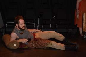 Jarrod DeRooi in Antony & Cleopatra
