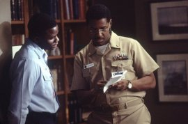 Derek Luke and Denzel Washington in Antwone Fisher