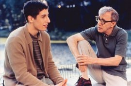 Jason Biggs and Woody Allen in Anything Else