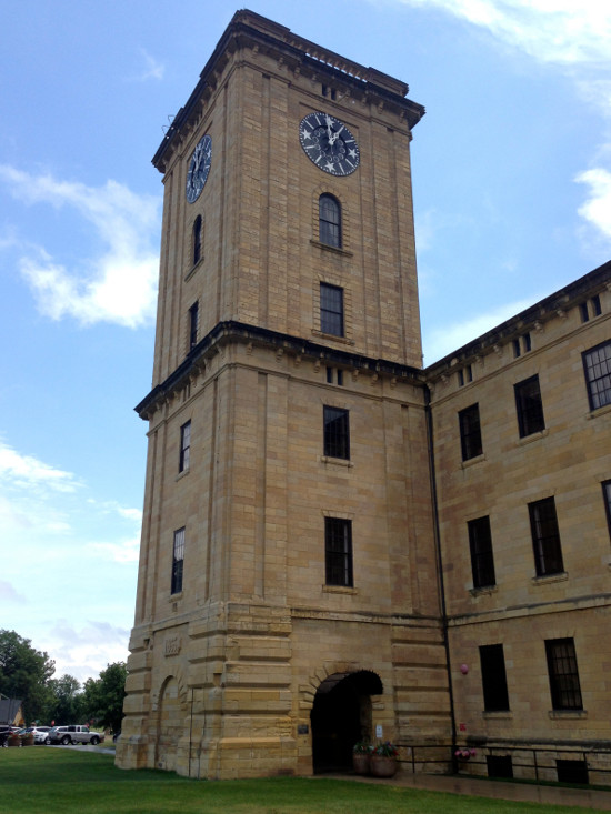 The Rock Island Clock Tower Building. Photo by Bruce Walters.