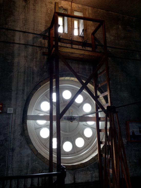 Inside the Rock Island Clock Tower Building. Photo by Bruce Walters.