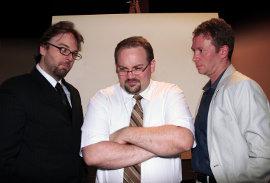 Adam Michael Lewis, Aaron Randolph III, and Mike Schulz in Art