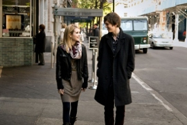 Emma Roberts and Freddie Highmore in The Art of Getting By