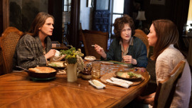Julia Roberts, Meryl Streep, and Julianne Nicholson in August: Osage County