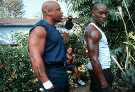 Ving Rhames and Tyrese Gibson in Baby Boy