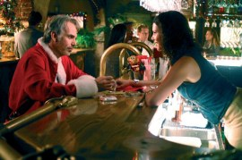 Billy Bob Thornton and Lauren Graham in Bad Santa