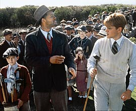 Will Smith and Matt Damon in The Legend of Bagger Vance