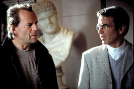 Bruce Willis and Billy Bob Thornton in Bandits