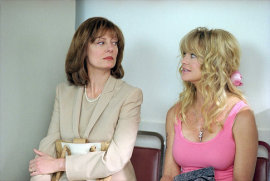 Susan Sarandon and Goldie Hawn in The Banger Sisters