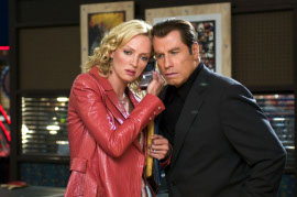 Uma Thurman and John Travolta in Be Cool