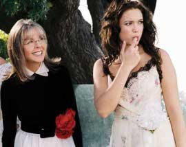 Diane Keaton and Mandy Moore in Because I Said So